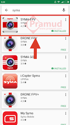 syma indonesia, bagaimana cara bikin konek kamera fpv drone syma x8hw, x8w, x5sw, x5hw - pramud.com