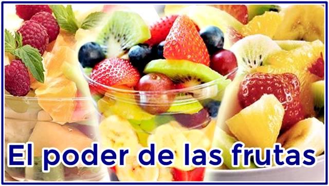 Conoce el poder nutritivo de las frutas a nivel general