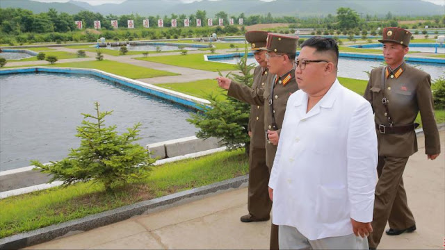 """Pyongyang denuncia la """"conspiración conflictiva"""" de EEUU y Seúl"""