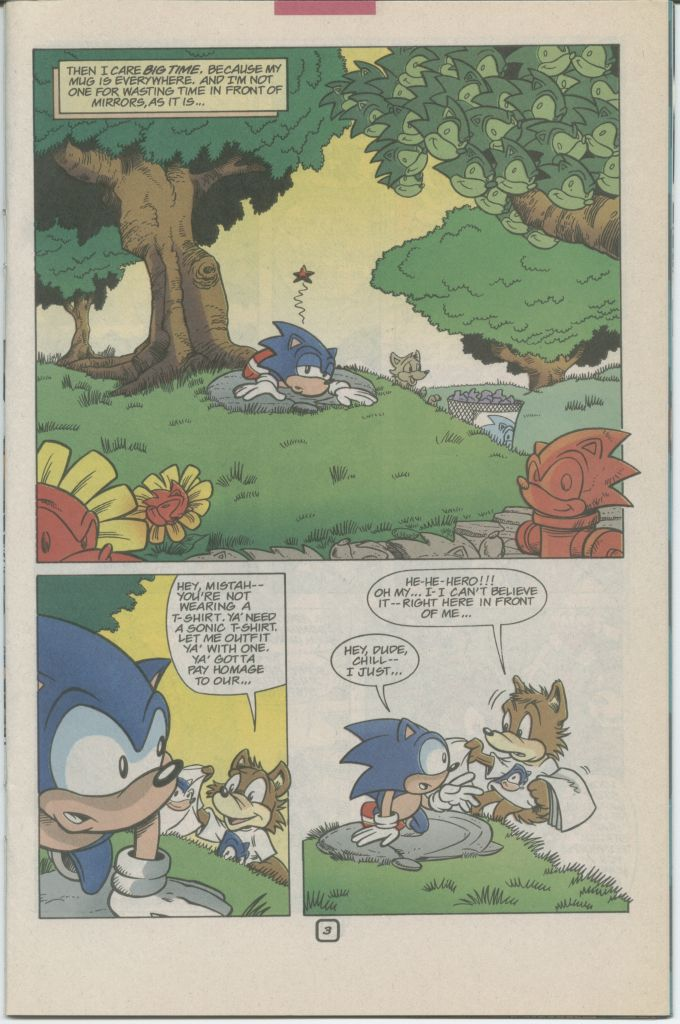 Read online Sonic The Hedgehog comic -  Issue #70 - 25