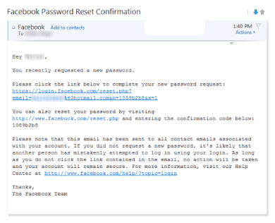 How To Recover A Lost Facebook Password Fixed I Forgot