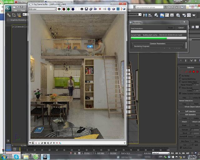 Đào tạo Đồ họa kiến trúc ( 3DMAX - AUCAD - REVIT - SKETCHUP - PHOTOSHOP ) ngắn hạn tại TP.HCM - 10