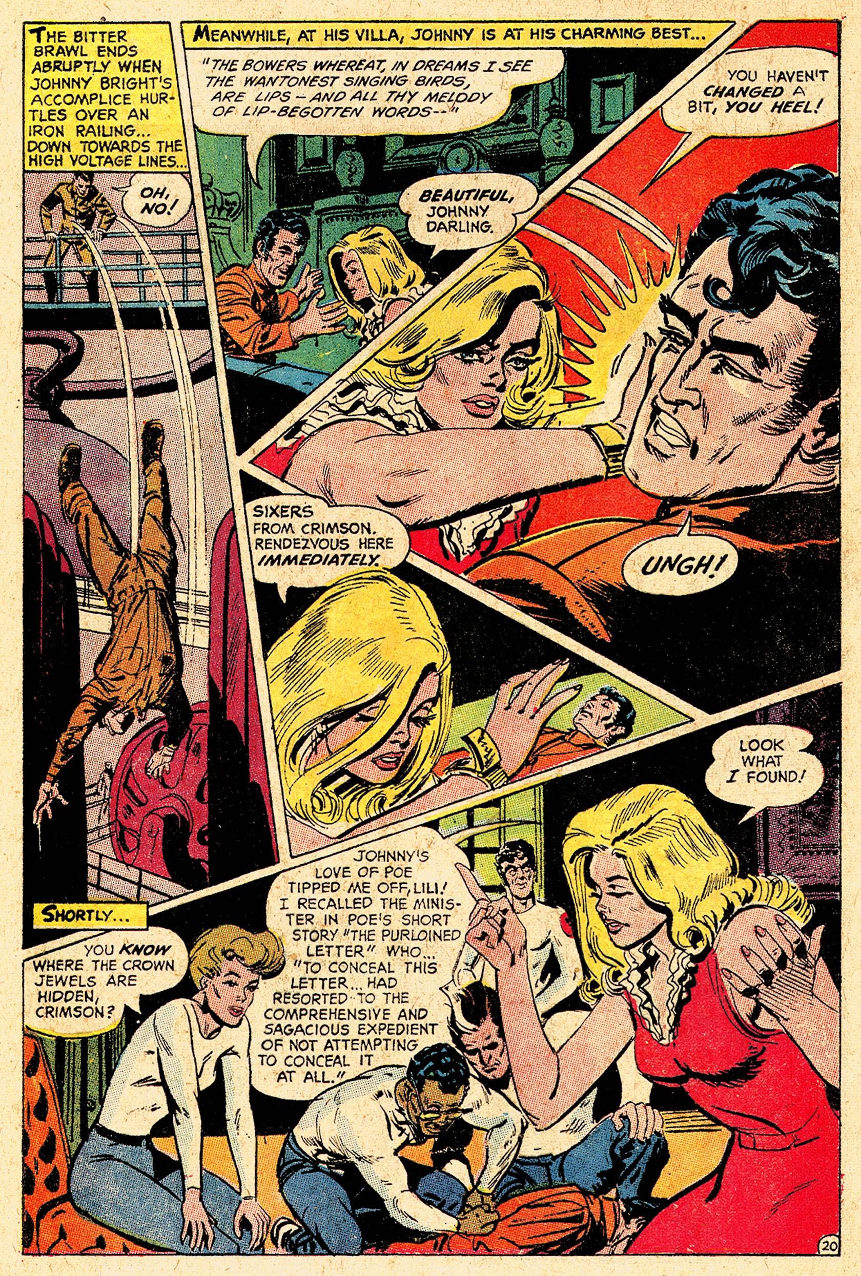 Read online Secret Six (1968) comic -  Issue #5 - 28