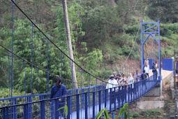 Kata Warga Soal Jembatan Diplomasi yang Diresmikan Menlu Retno