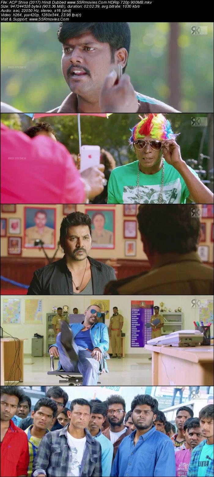 Acp Shiva 2017 Hindi Dubbed Hdrip 720p 900mb Ssr Movies