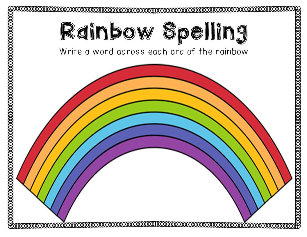 Spelling Activities A Freebie