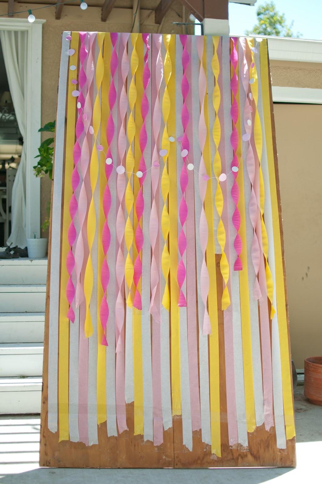 Bridal Shower Table Diy Photo Booth Props Decodir