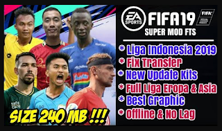 FTS Mod FIFA 19 Evolution v2 by Aaf Azril