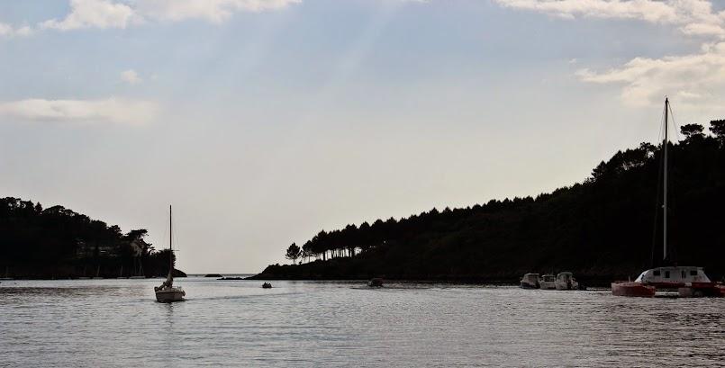 Odrobina wytchnienia / Un instant de calme (Port Manec'h)