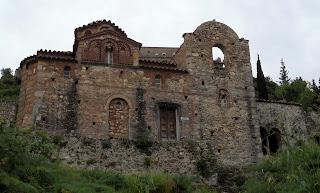 ο ναός της Ευαγγελίστριας στον Μυστρά