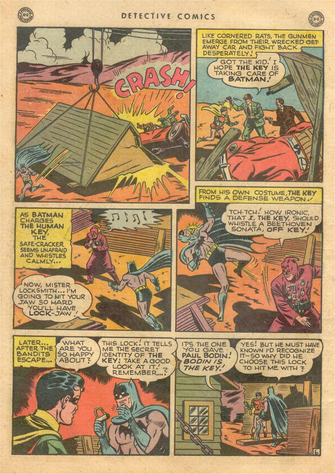 Read online Detective Comics (1937) comic -  Issue #132 - 8