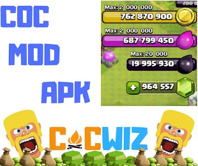 coc mod apk features