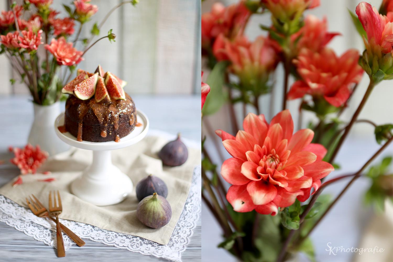 Saftige Schokoladenküchlein mit Feigen-Kompott-Topping | Alles und ...