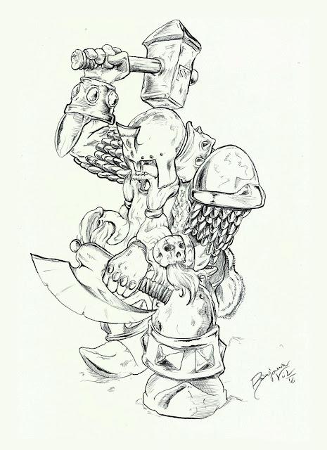 Muradin Bronzebeard - Benjamin Vilella