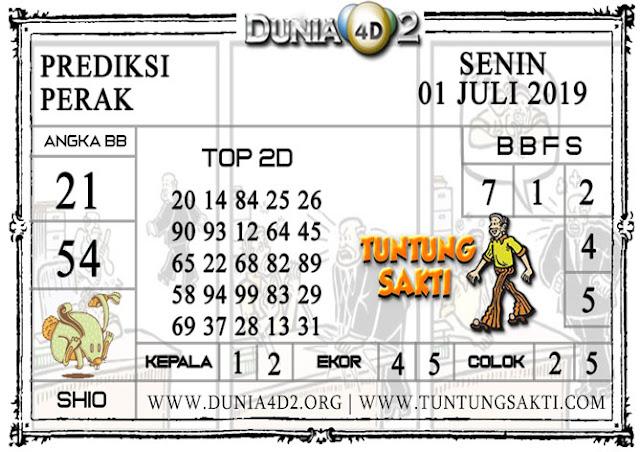 """Prediksi Togel """"PERAK"""" DUNIA4D2 01 JULI 2019"""