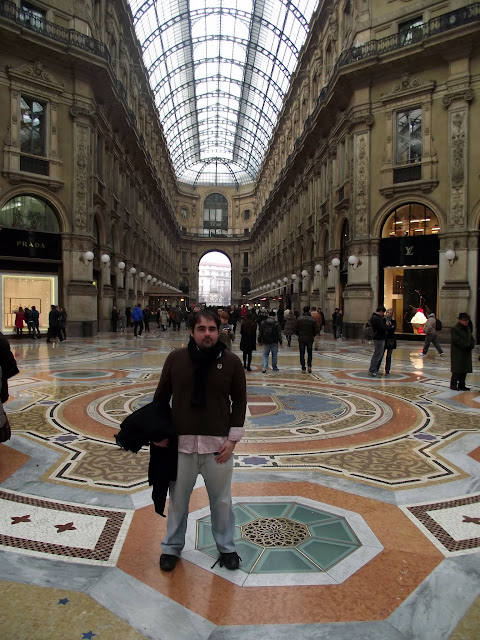 Viajar a Milán, Galeria Victorio Manuel II
