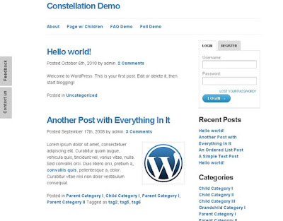 WP THEME#21: CONSTELLATION