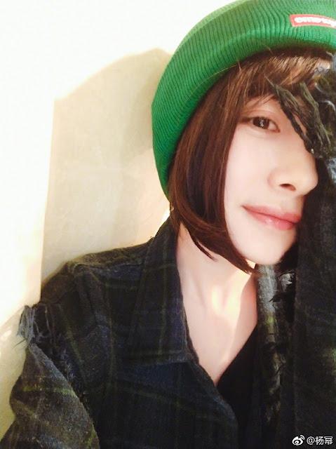 Yang Mi short hairdo