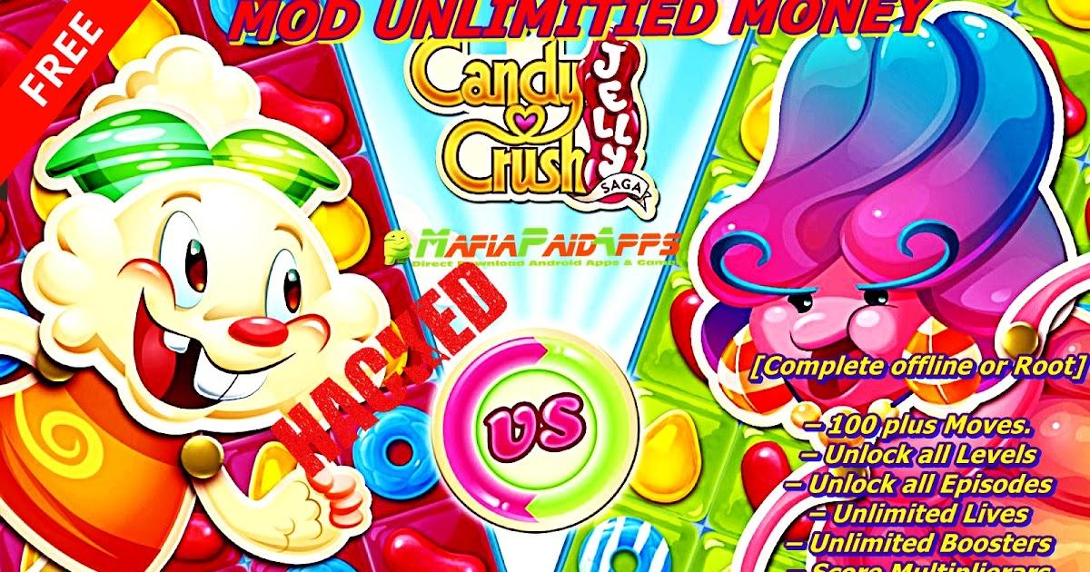 candy crush saga mod apk auto win