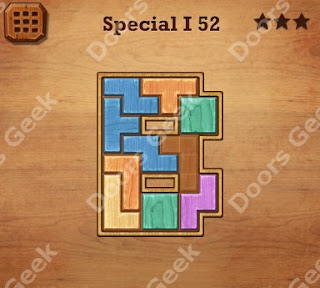 Cheats, Solutions, Walkthrough for Wood Block Puzzle Special I Level 52