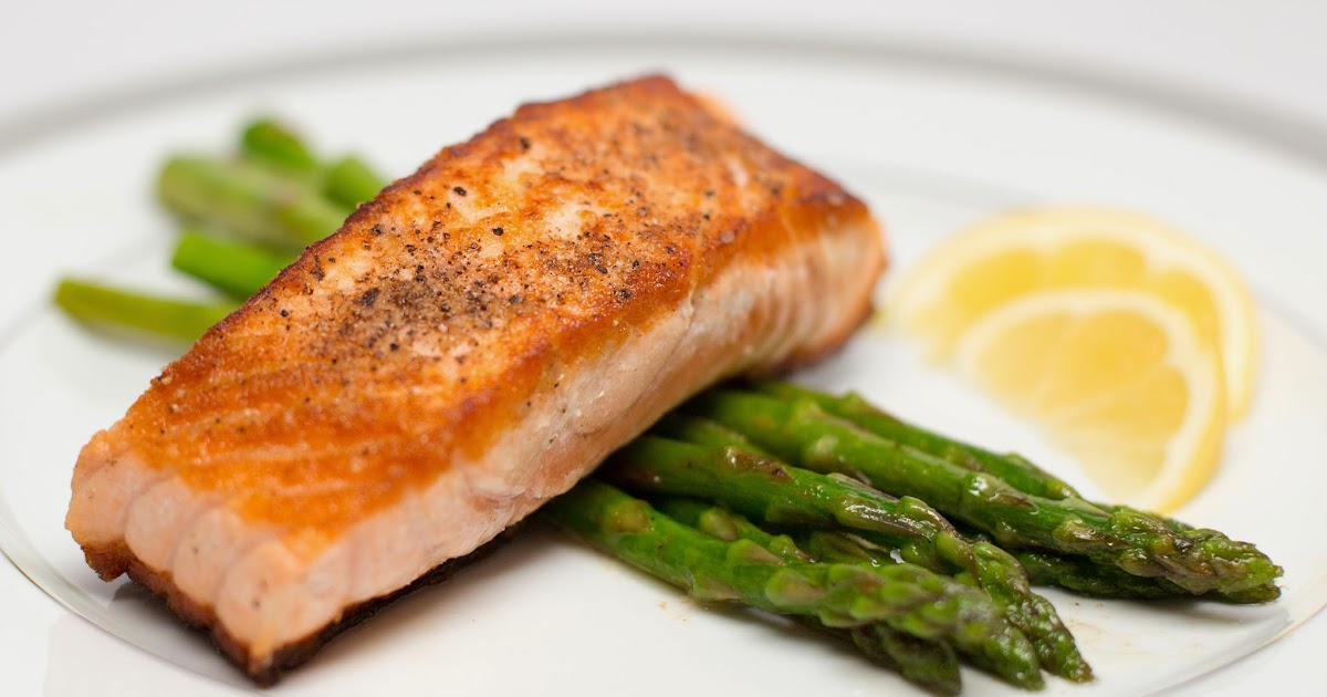 Straight To The Hips Baby Pan Seared Salmon With Lemon