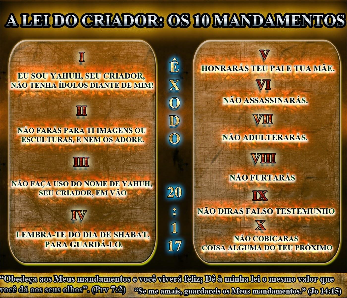 Os 10 Mandamentos   Religião