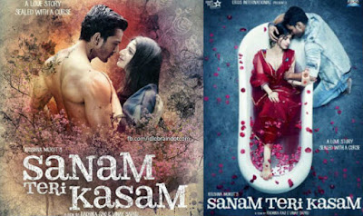 Bollywood Movie, Filem Bollywood, Hindi Movie, Sinopsis, Sanam Teri Kasam, Pelakon Utama Filem Sanam Teri Kasam,Harshvardhan Rane, Mawra Hocane