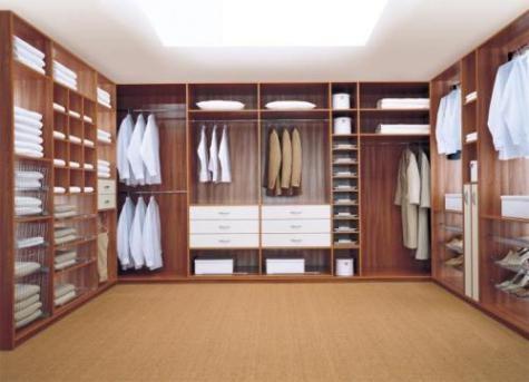 Dise o closets para dormitorios decorar tu habitaci n - Small closet lighting ideas ...