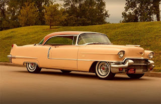 1956 Cadillac Coupe DeVille Front Right