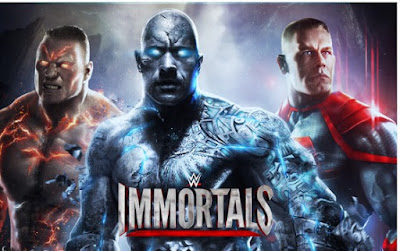 WWE Immortals Mod Apk + OBB Download All Characters Unlocked unlimited platinum