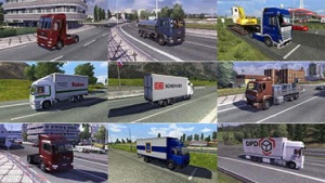 Traffic truck mod pack 1.2 by jazzycat