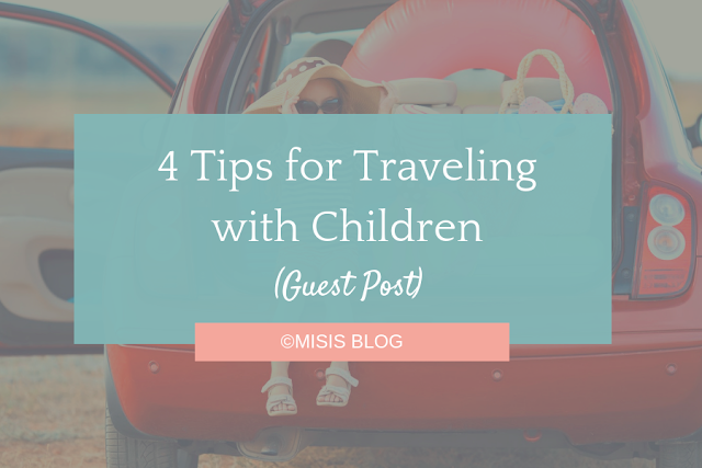 4 Tips for Traveling with Children - kids car ride