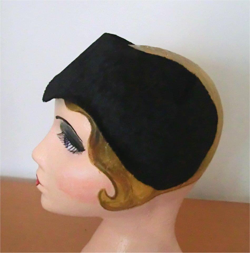 Millinery musings  Making a half hat pattern 34e225d2e28