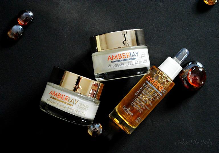 Farmona Amberray - program rozjaśniająco-odmładzający z bursztynem