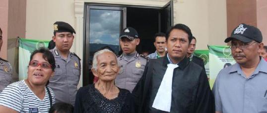 Viral Hukum Semena-Mena Terhadap Nenek 92 Tahun
