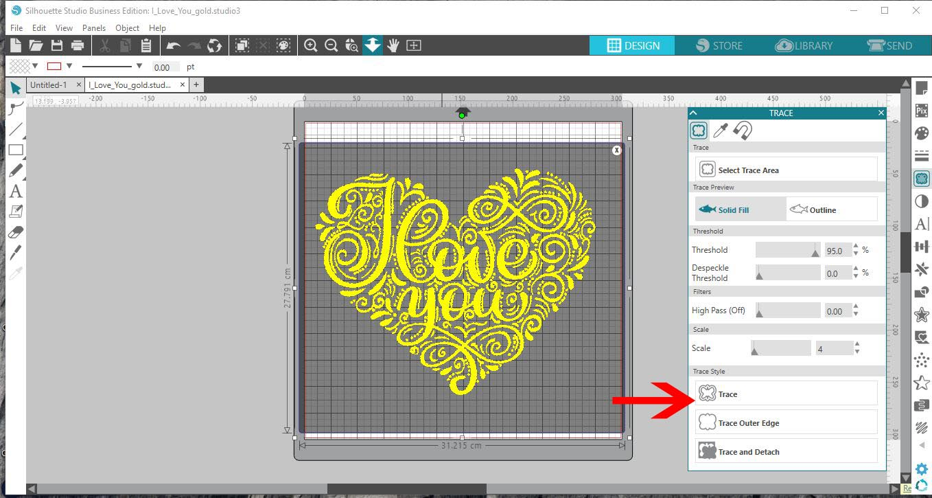 How to use an Ai (Adobe illustrator) file in the Silhouette