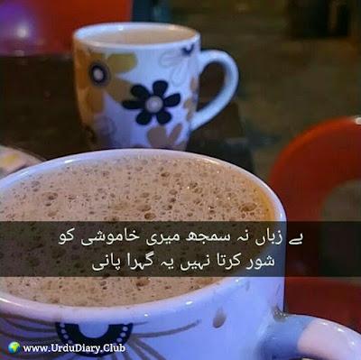 Be zuban na samjh meri khumoshi ko shor kerta nahi yeh gehra pani
