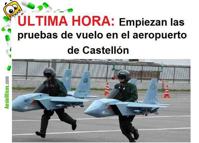 Chiste del Aeropuerto de Castellón