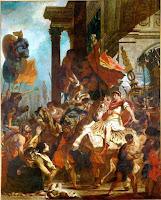 Delacroix, Eugène - La Justicia de Trajano (1858)