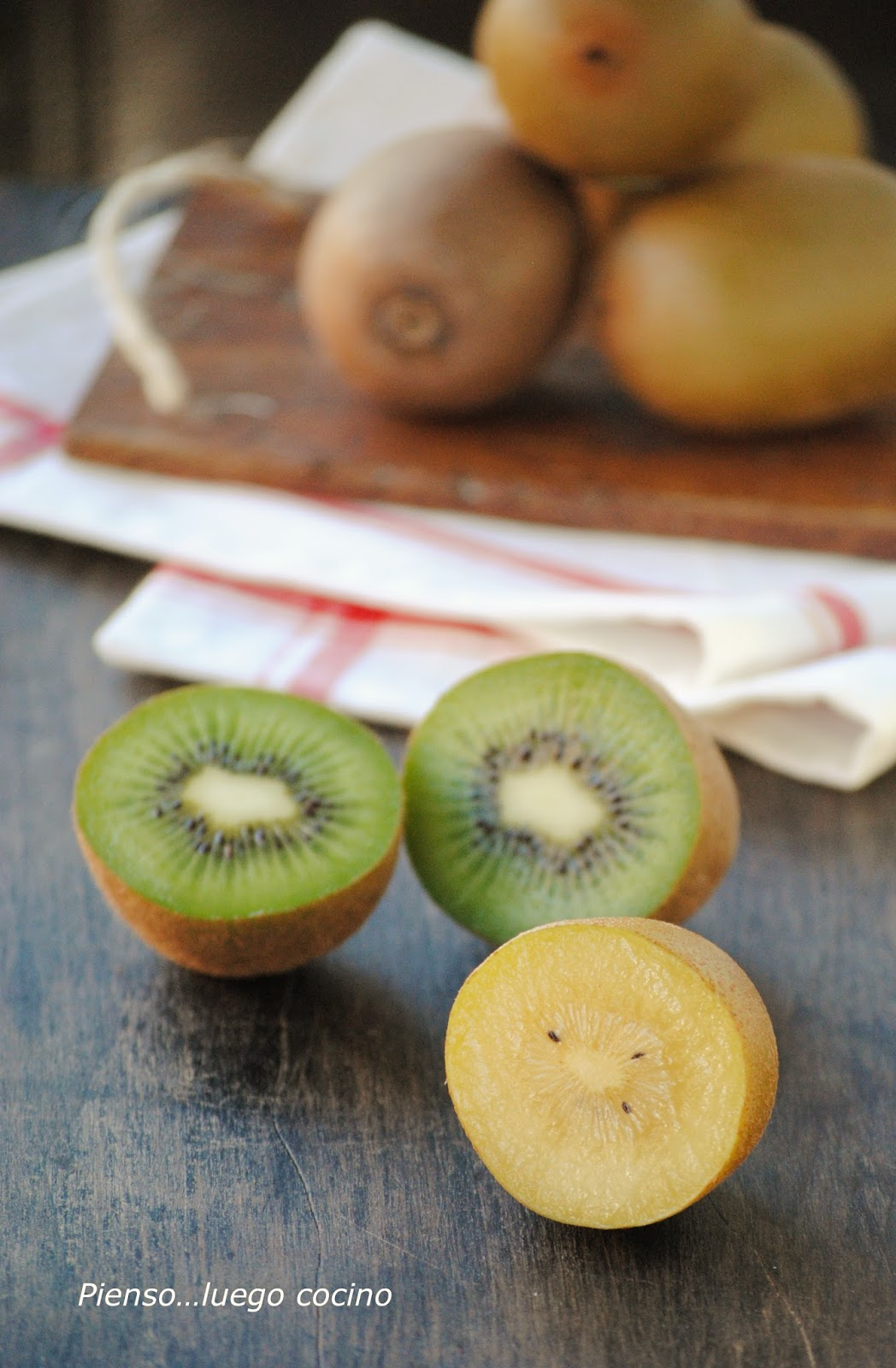 Kiwi verde, kiwi amarillo