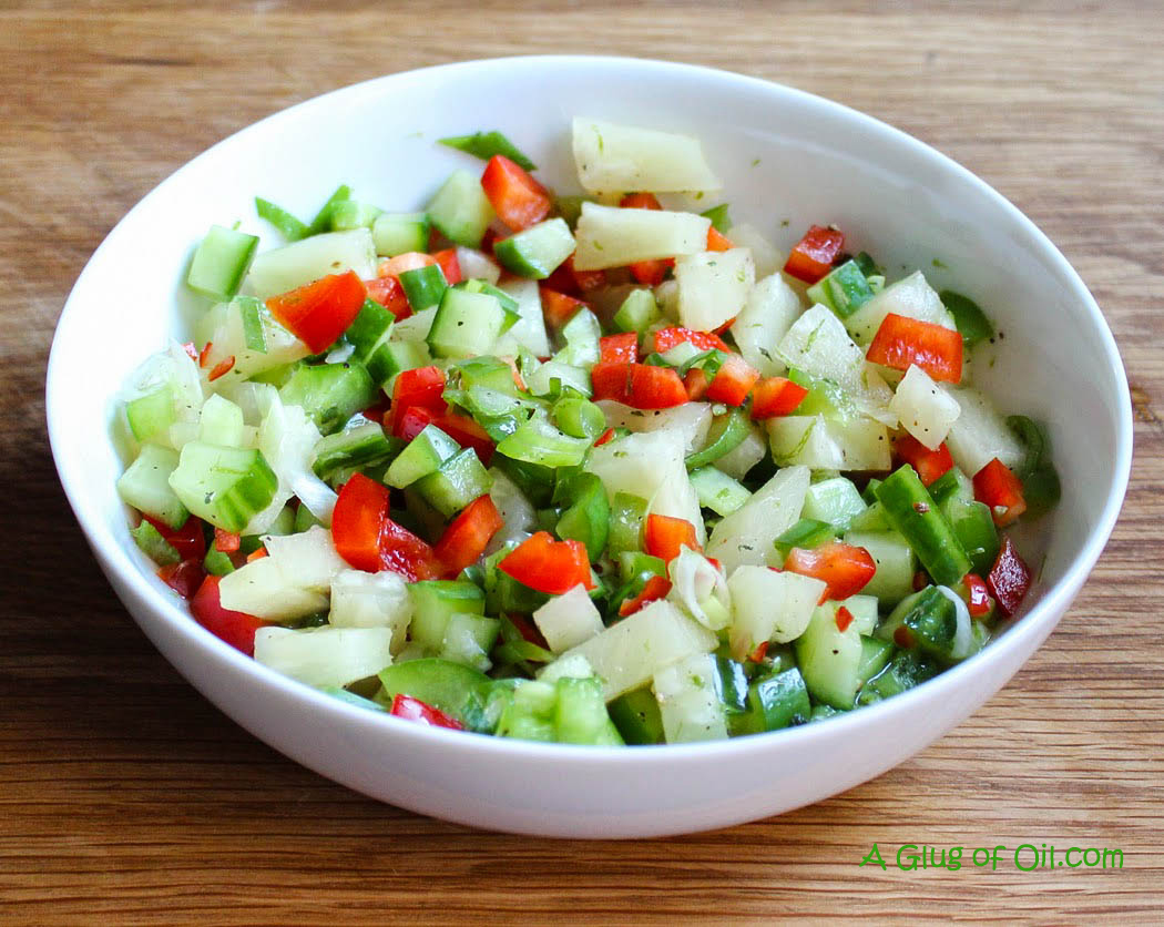 Pineapple Pepper and Chilli Salsa