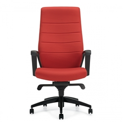 Bright Red Office Chair