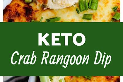 Keto Crab Rangoon Dip