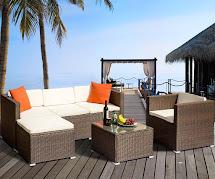 Luxury Furniture Leisure Zone Rattan Patio