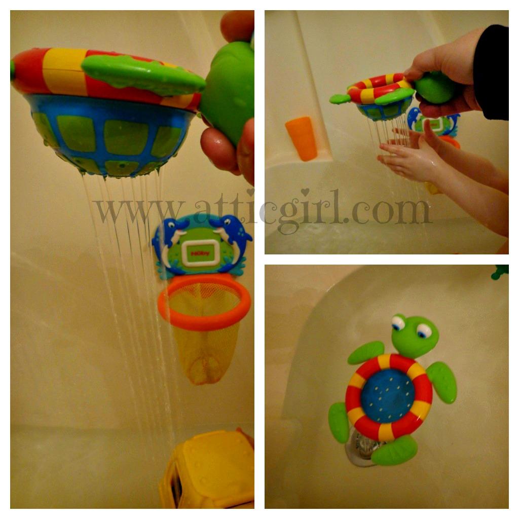 Bath Splashing Fun For Toddlers | The Attic Girl