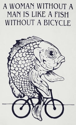 funny fish on a bicycle meme joke picture
