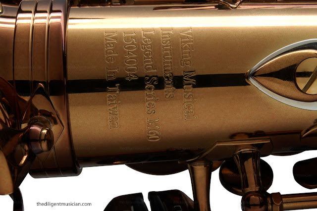 Viking Valkyrie Alto Saxophone Serial Stamp