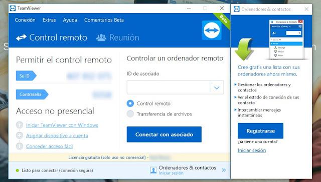 تحميل برنامج  TeamViewer للتمكن من التحكم في الكمبيوتر عن بُعد