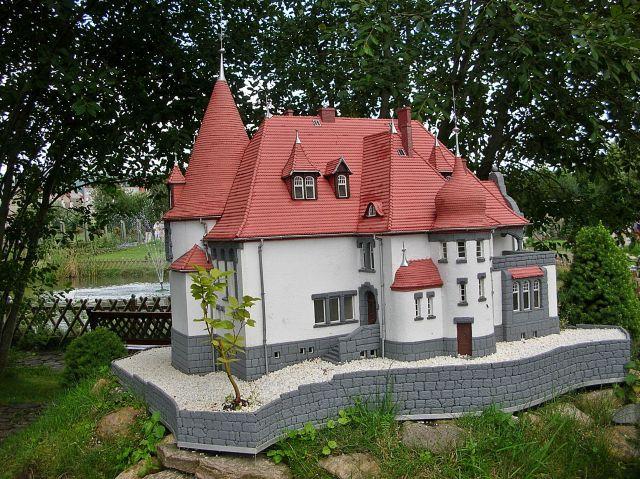 Jagniątków, park miniatur, Kowary