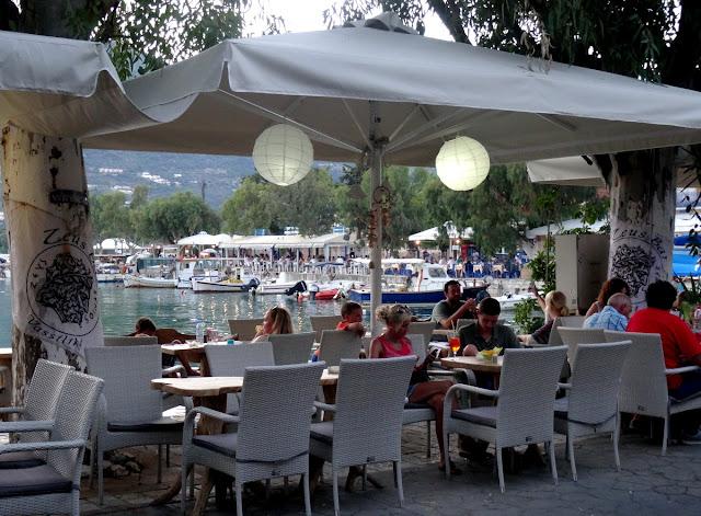 Outdoor cafe Vasiliki